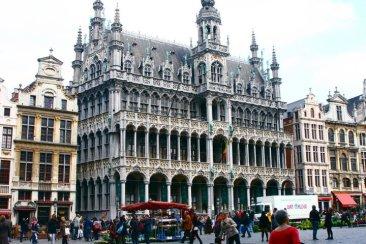 Grand Place in Brussels, Belgium (@kmtwanderlust photo/May 2, 2011)