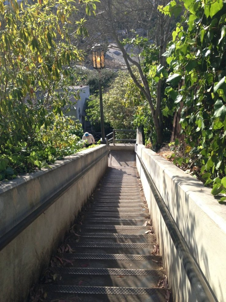 santa monica stairs via yelp