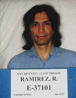 Richard Ramirez in 2007. (California Department of Corrections and Rehabilitation)