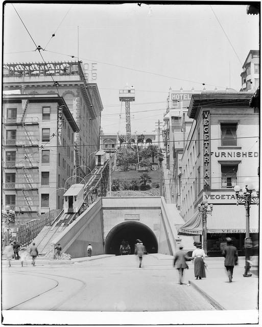 Photo from the California Historical Society Collection, circa 1907.
