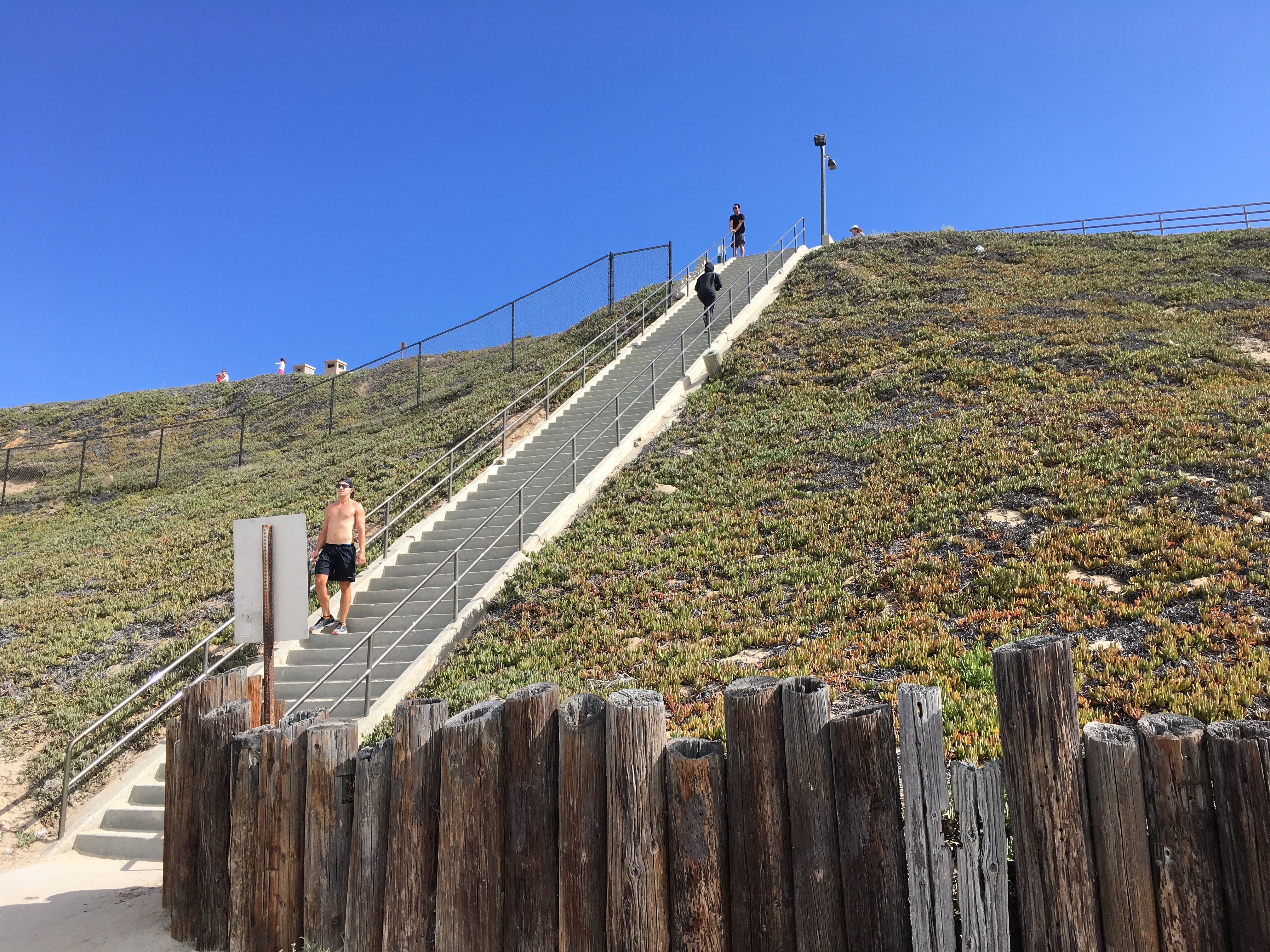 Angelenos Flock To The Culver City Or Santa Monica Stairs For A Great Leg  Workout, But Did You Know That South Redondo Beach Has A Set Of Stairs With  An ...